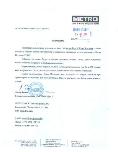 Метро Кеш и Кери България